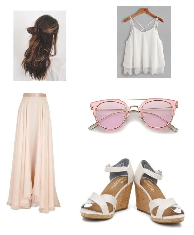 """""""Casual Lunch Spring"""" by londonkat on Polyvore featuring Lanvin and TOMS"""