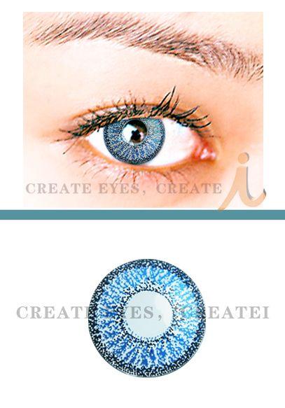 Double Blue Color Contact Lens (Pair) Color Contact Lens [B2] - $22.99 : Colored Contacts, Halloween Contacts,Color Contact Lenses and Crazy Contact Lenses