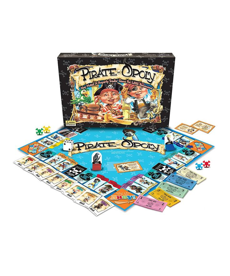 Take a look at this Pirate-Opoly Board Game today!