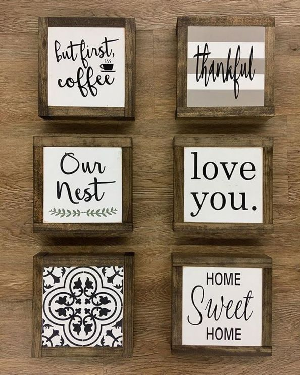 47 Rustic Wood Sign Ideas With