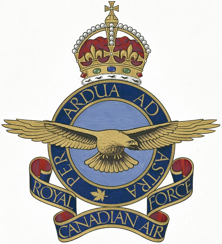 The original badge of the Royal Canadian Air Force, showing the motto that had been borrowed from the Royal Air Force: Per Ardua Ad Astra - Through adversity to the stars. IMAGE: DND