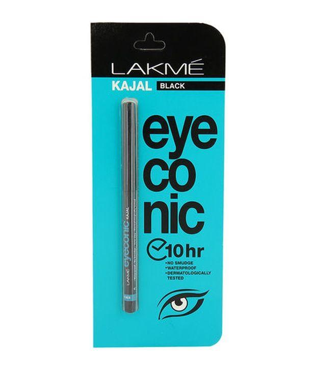Lakme Eyeconic Black Kajal, 0.35g.  Rs. 178
