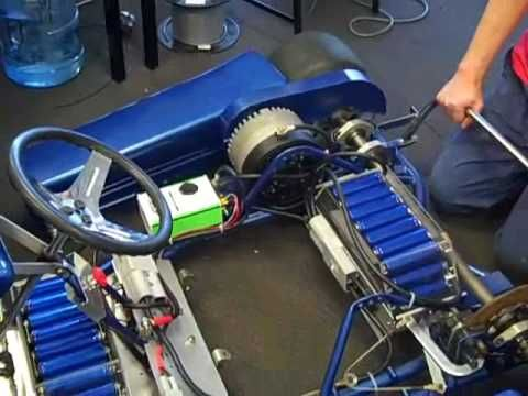 LOOK AT BATTERY PLACEMENT.  SIZE OF BATTERIES TOO.     Chisholm electric go kart  part 5 assembley