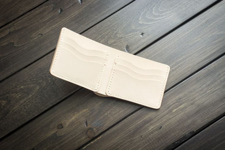 Naked 4 Card Traditional Leather Wallet