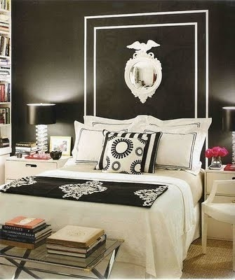 Decorating with black in the bedroom - more decor ideas @BrightNest Blog