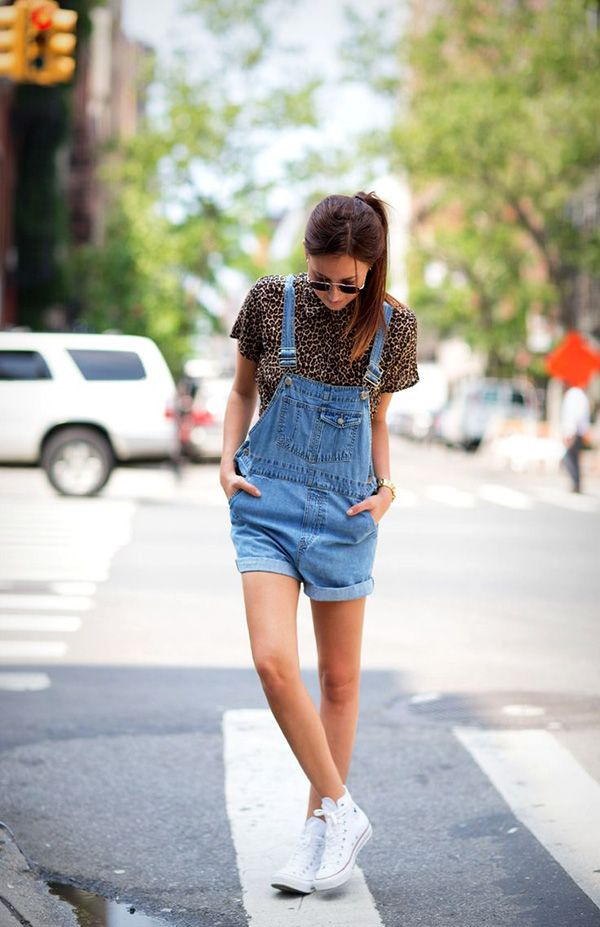 how to wear overalls https://www.etsy.com/listing/196263448/bill-blass-womens-jean-bib-overall?  vintage womens overall shorts!