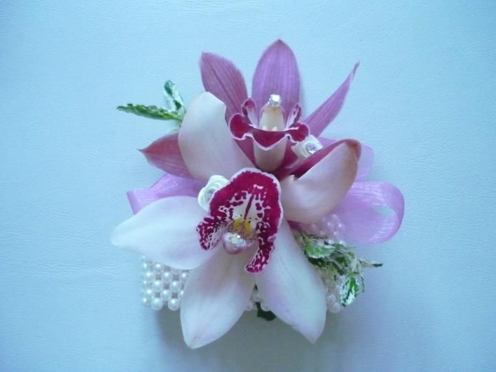Our pink Orchid lady's corsage