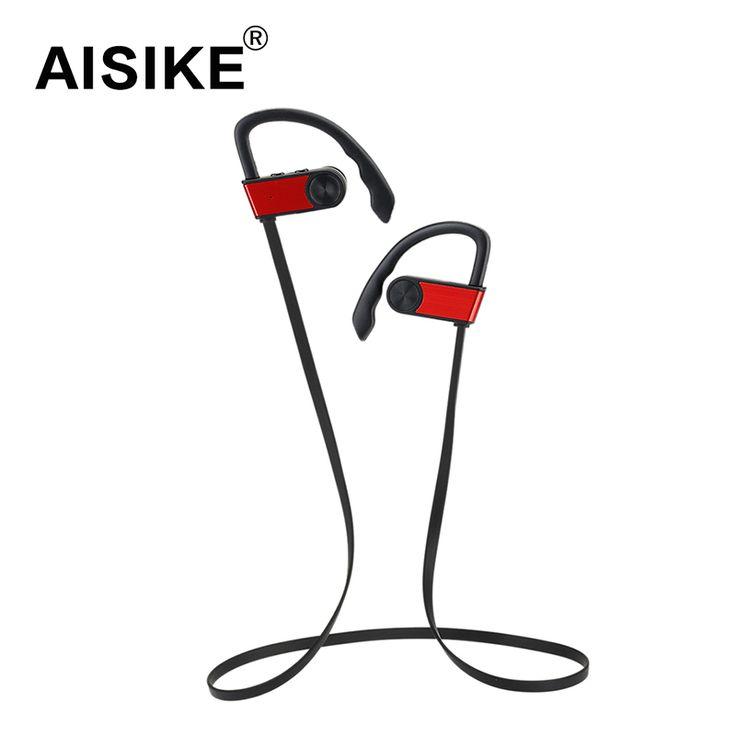 Wireless Bluetooth Headset Sports Earphone With Ear Hook Stereo Headphones Bass Music Handfree Earbuds For iPhone Xiaomi Samsung