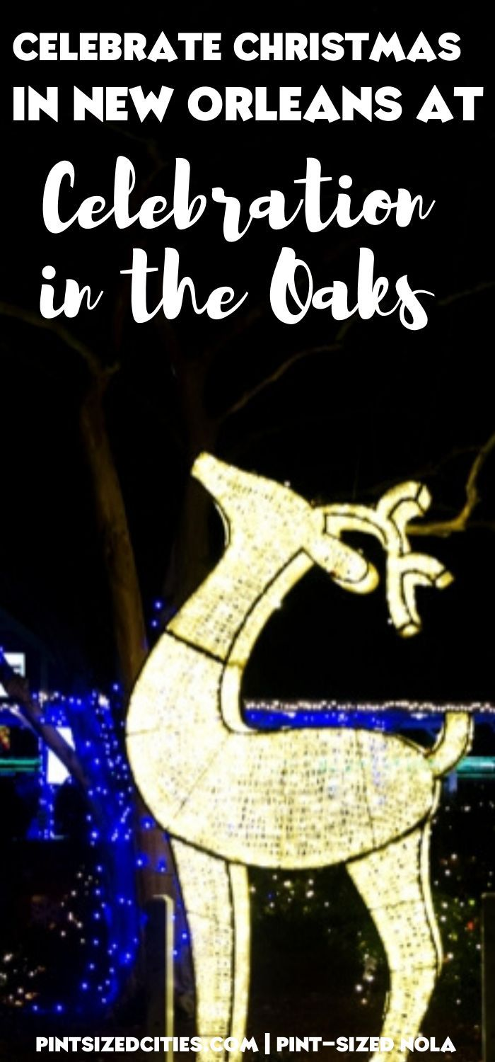 New Orleans Christmas Events 2020 Celebrate Christmas in New Orleans at Celebration in the Oaks in