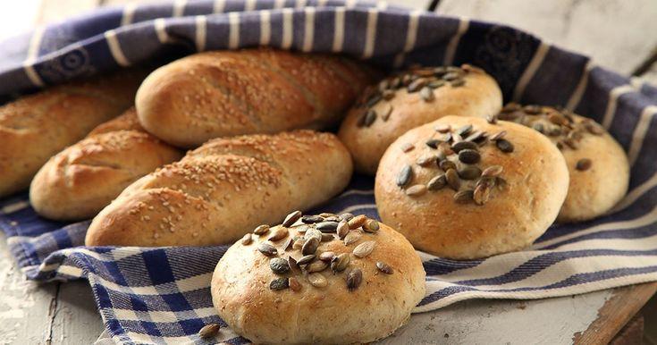 Ett bröd som alla gillar! Småfrallor som är lika goda till frukosten, salladen eller till en rykande het soppa!