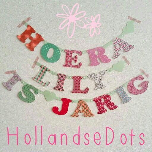 Voor een klein vriendinnetje #handmade #HollandseDots