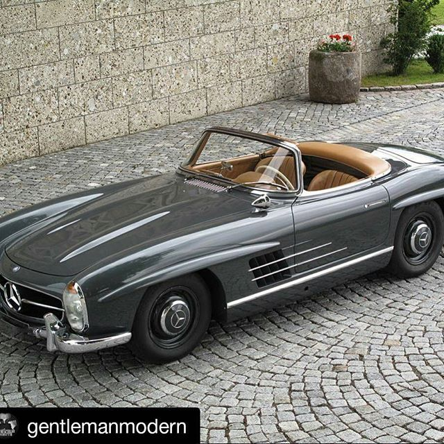 1957 Mercedes Benz #300SL #Roadster