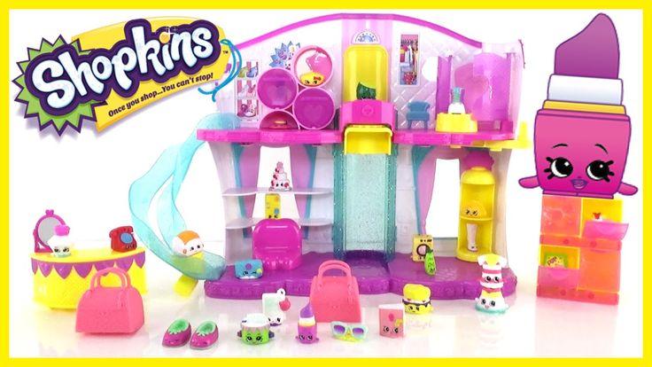 Shopkins Season 3 Fashion Spree Fashion Boutique Playset with Exclusive ...