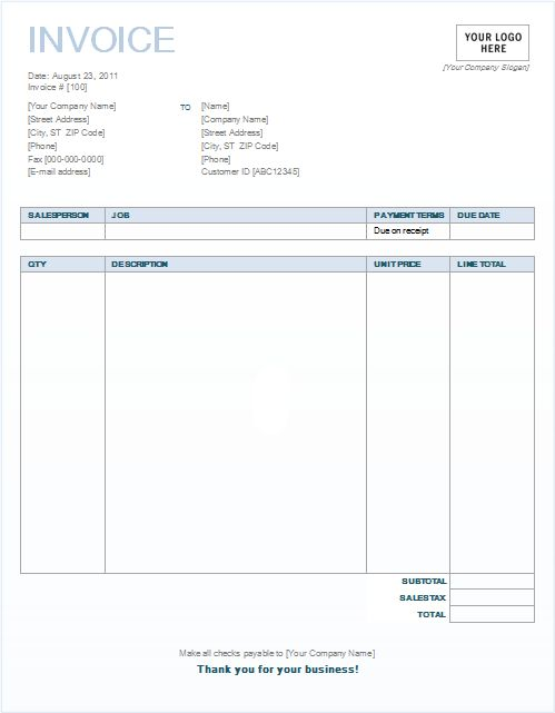 Printable Billing Invoice Best Basic Legal Document Template - Billing invoice templates