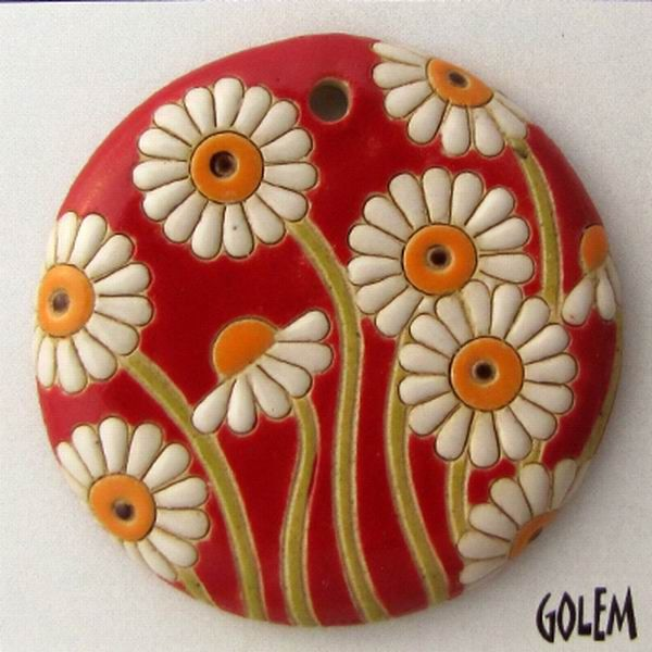 Ceramic beads - interview with Vladislav Ivanov and Kremena Ivanova from Golem Design Studio & Giveaway! | Esfera Jewelry on tour