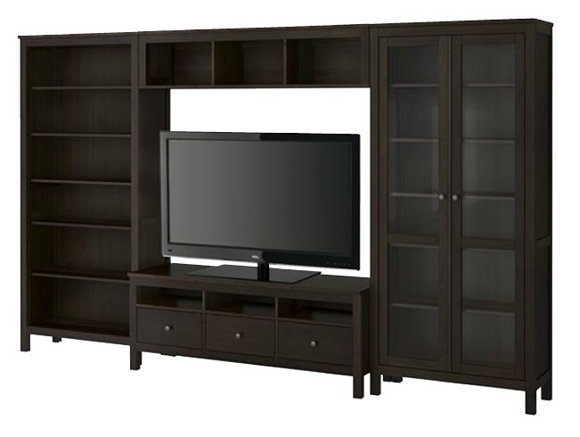 Ikea Hemnes entertainment center Home is where the