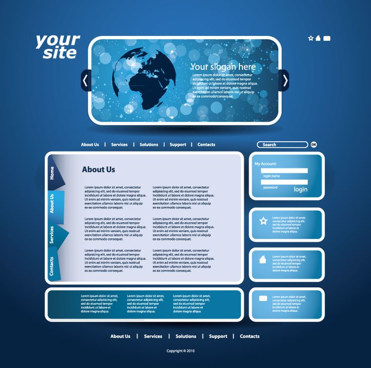 awesome 32 Sample Website Design Templates