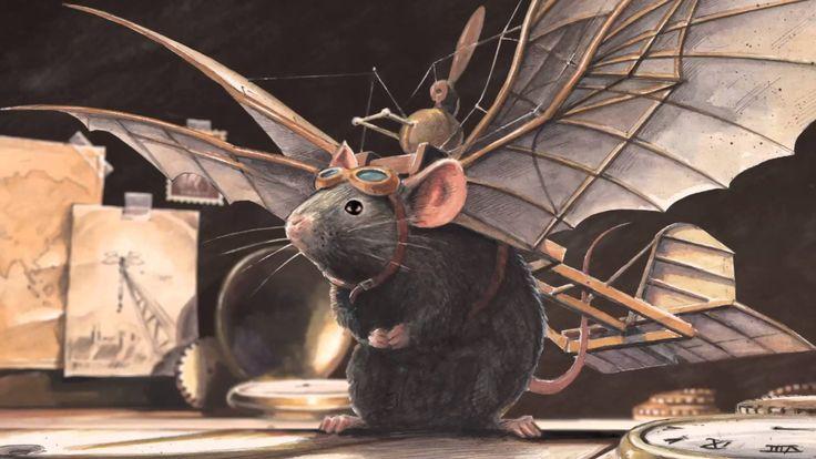 Torben Kuhlmann: LINDBERGH -In Hamburg lebt eine außergewöhnliche kleine Maus. Eines Tages bemerkt sie, dass es gefährlich geworden ist, da wo sie wohnt. Überall lauern Mausefallen und Katzen. Nach und nach verschwinden ihre Mäusefreunde. Aber wohin sind sie geflüchtet? Nach Amerika? Die kleine Maus beschließt, den weiten Weg über den Atlantik zu wagen. Nächtelang bastelt sie an einem Flugzeug. Ein wildes Abenteuer nimmt seinen Anfang!