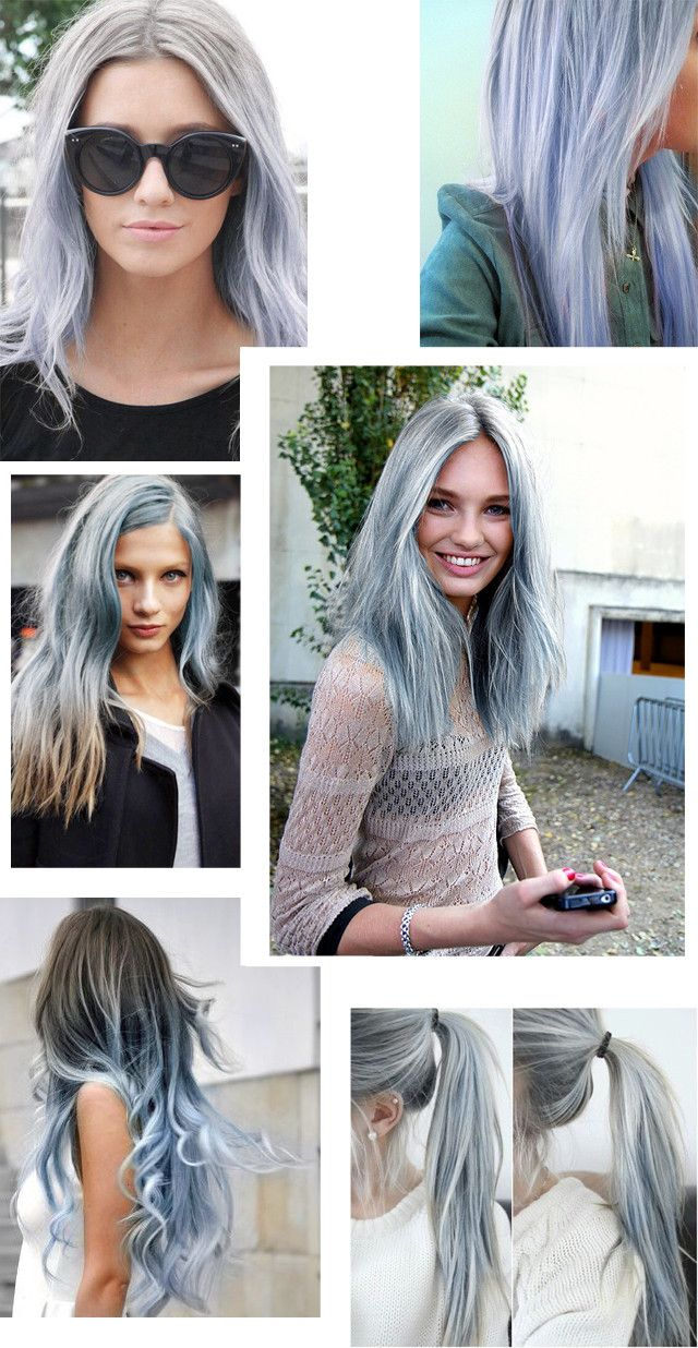 Granny Gray Silver Human Hair Extensions (229) http://www.sishair.com/ Sis Hair: Virgin Hair, Remy Hair, Ombre Hair & Lace Closure