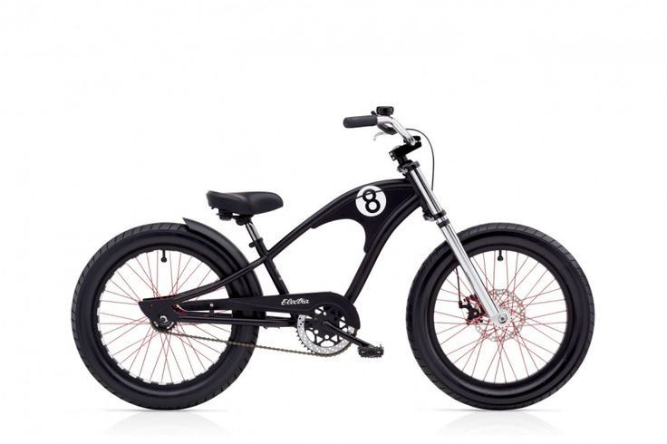 Electra Straight 8 Kids 16 Zoll Kinder Matte Black (2017)