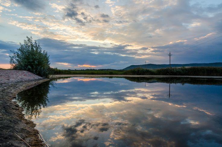 Róth Hajnalka Őszi naplemente az Öreg-tónál A lemenő napfény utolsó sugarai a Csákberény közelében levő Öreg-tónál.  Több kép Hajnalkától:  https://www.facebook.com/nalkaroth/