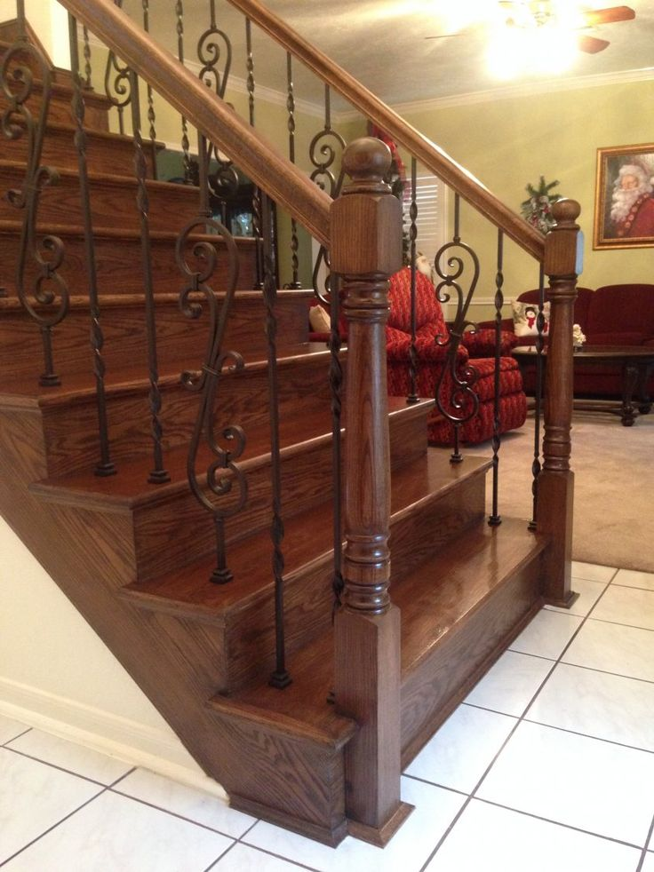 Best 8 Best Staircases With Replacement Balusters Images On 400 x 300