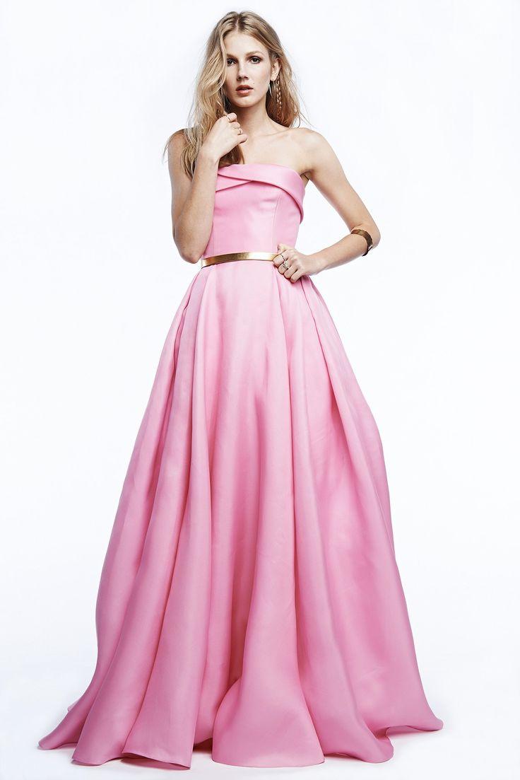 Hermosa Vestido De Novia Reem Acra Blush Imagen - Colección de ...