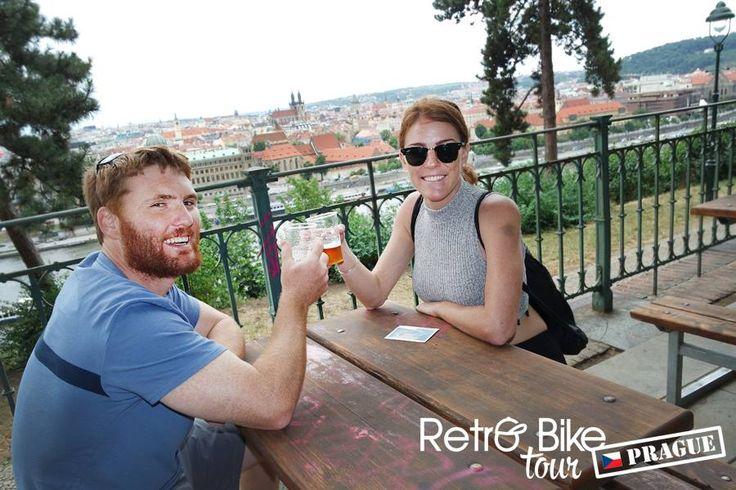 Cheers beautiful Prague!