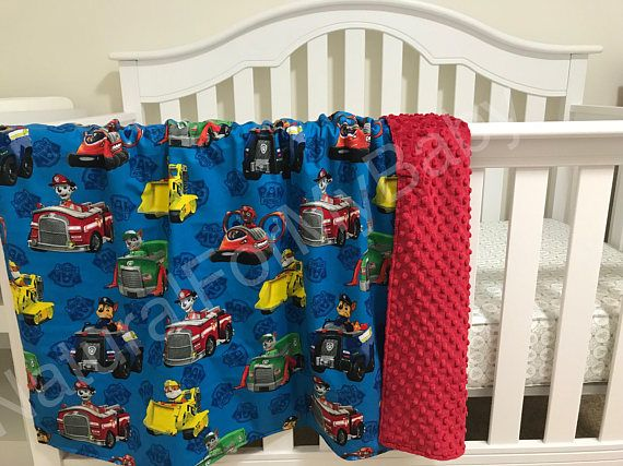 Paw Patrol Blanket Toddler