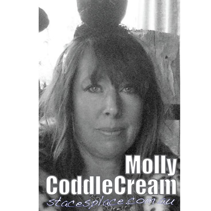 Meet the woman beside the man, Molly CoddleCream joins Stringy Bark Mcdowell at Staces Place.