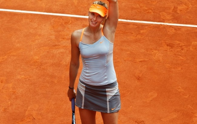 Maria is through to the quarters of the Mutua Madrid Open after she defeated Sabine Lisicki of Germany. Maria won the third round match 6-2 7-5 in an hour and 40 minutes