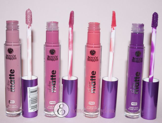 Liquid Lipstick- ALL DAY MATTE- Boys'n Berries