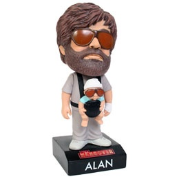 Bobblehead - Alan from Hangover with baby Carlos