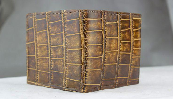 american alligator wallet by john allen woodward