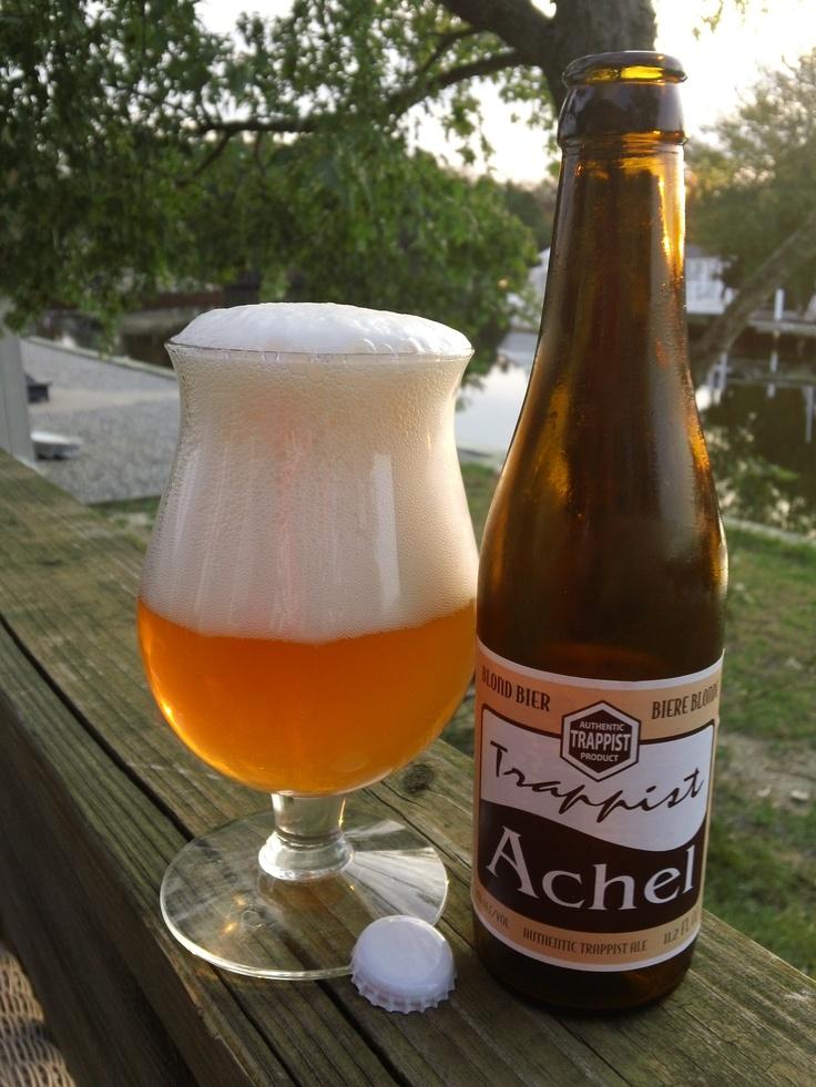 Achel Trappist Blond   - Achelse Kluis Trappistenbrouwerij Achel - Beoordeling GGOB 7,5.Eigen beoordeling:6,8