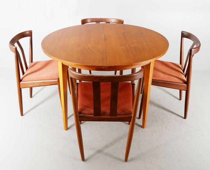 MATGRUPP, 5 delar, teak, IKEA, 1960-tal.