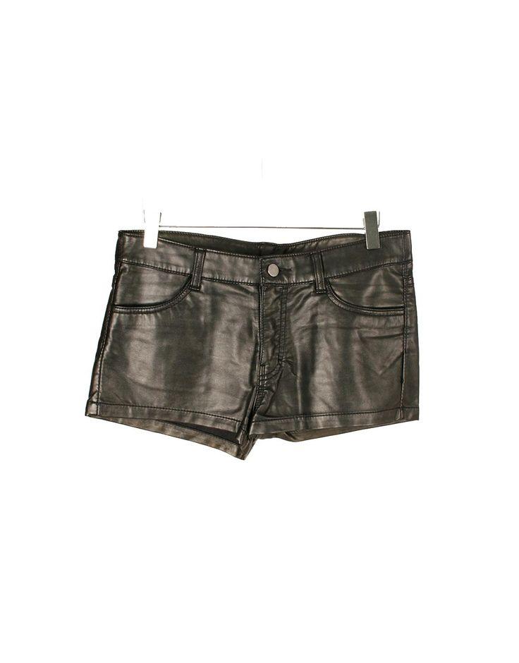 Short negro con bolsillo H&M 26€