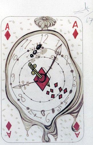 As de Diamantes, baraja Dalí