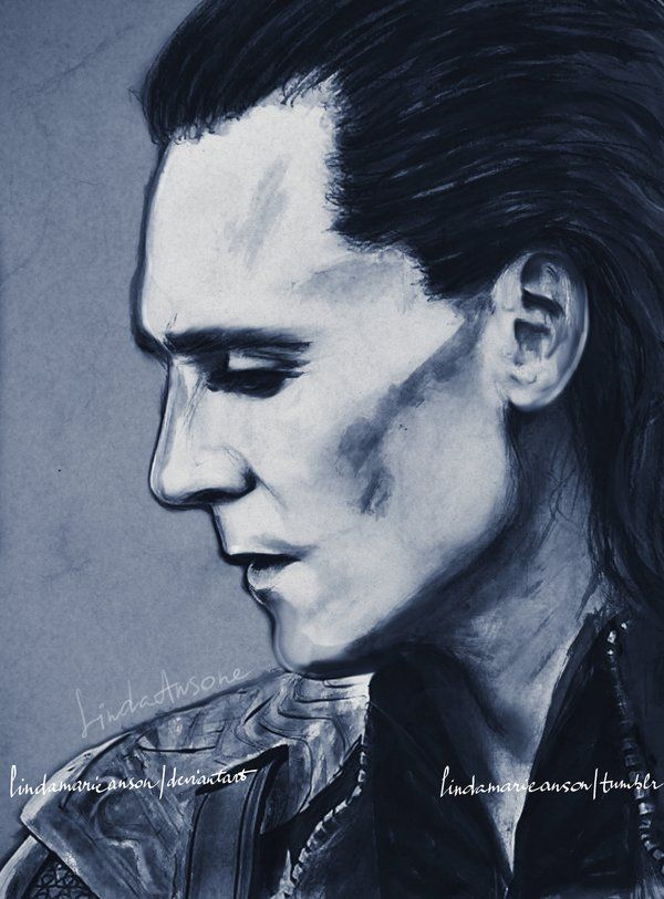 Loki Fan art From http://lindamarieanson.deviantart.com/art/whenever-your-world-starts-crashing-down-337504431