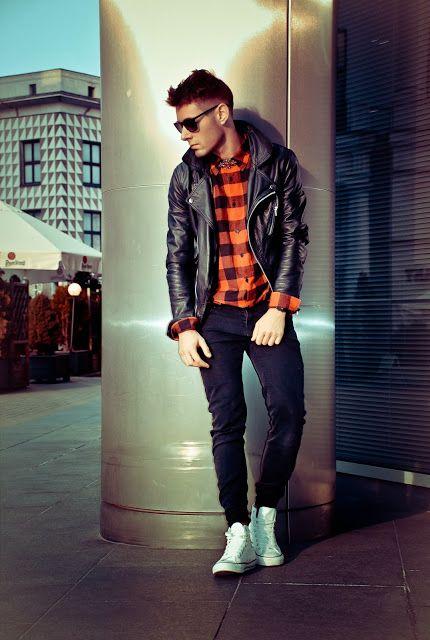 REBEL FASHION STYLE: Black leather jacket #hiphop #beats ...