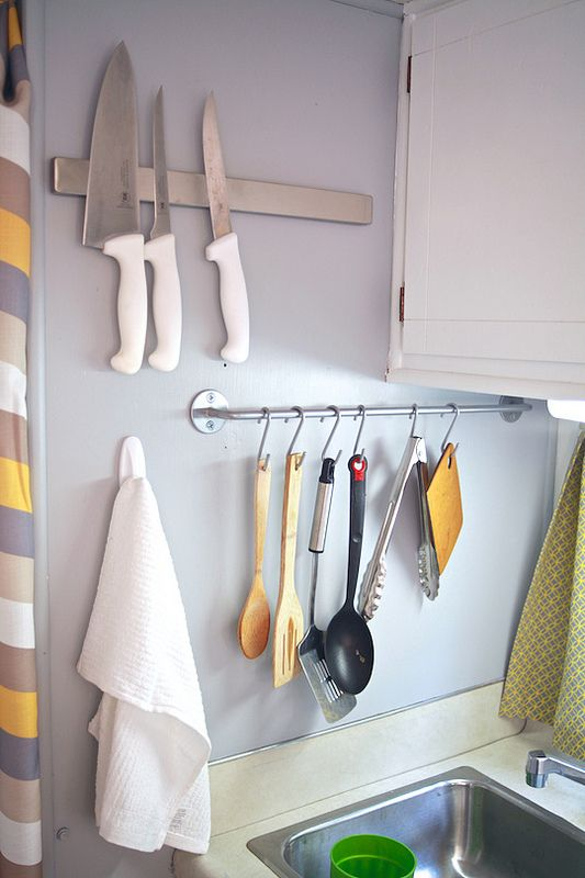 Best 25 caravan storage ideas space saving ideas on for Caravan kitchen storage ideas