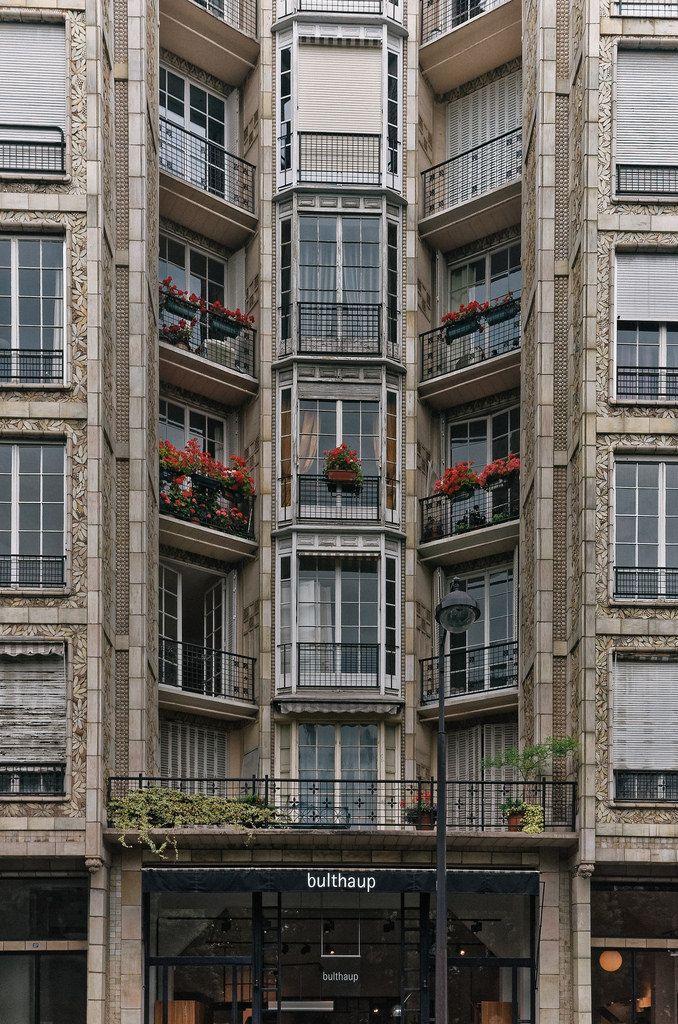 immeuble de rapport, 25 bis rue franklin auguste perret architecte, paris, france