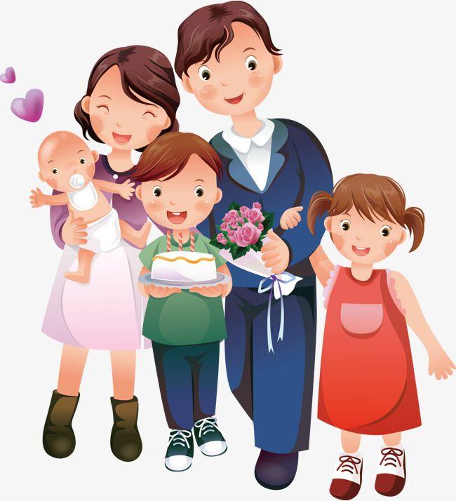 Картинка родители и дети вместе на прозрачном фоне, картинки