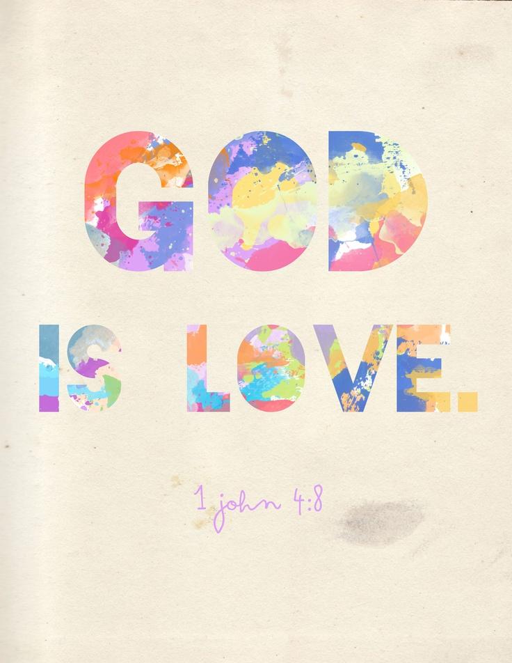 1 John 4:8: Quotes, Faith, John 4 8, 1 John, Scripture, Bible Verses, God Is Love