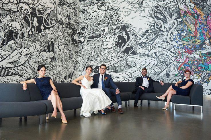 Edmonton Art Gallery, Wedding Party
