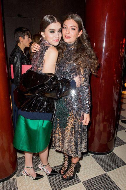 Hailee Steinfeld i Lorde - obie ubrane w sukienki Diora. http://www.tvn24.pl/zdjecia/na-czerwonym-dywanie,34655.html