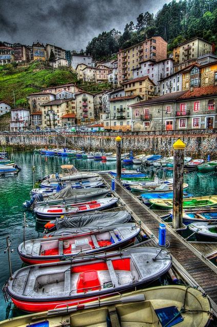 Elantxobe, Bizkaia, Basque Country, Spain