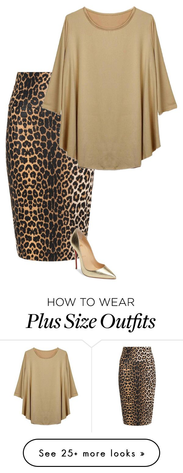 """""""Untitled #897"""" by bye18 on Polyvore featuring Yoek and Christian Louboutin"""