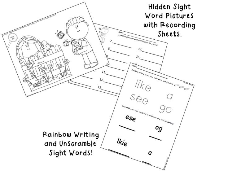 9 best Kindergarten Treasures Reading images on Pinterest
