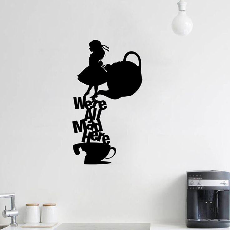 die besten 25 vinyl wall zitate ideen auf pinterest familien wand zitate vinyl wandsticker. Black Bedroom Furniture Sets. Home Design Ideas